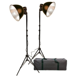 Promaster Basic 2-Light Studio Reflector Kit - B&C Camera