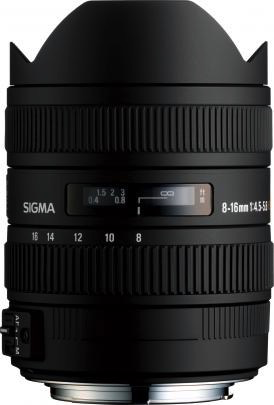Sigma 8-16mm F4.5-5.6 DC Lens for Canon - B&C Camera