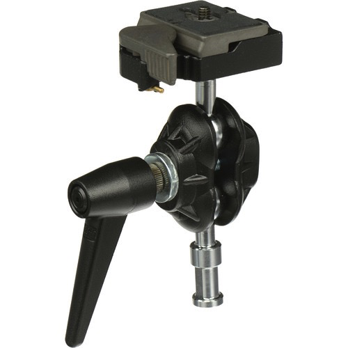 Manfrotto 155RC Double Ball Joint Head with Quick Release - B&C Camera