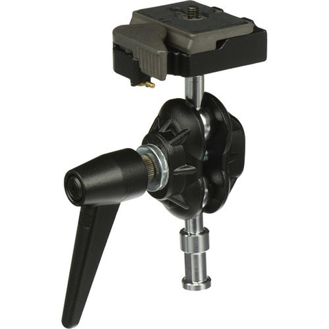 Manfrotto 155RC Double Ball Joint Head with Quick Release by Manfrotto at bandccamera