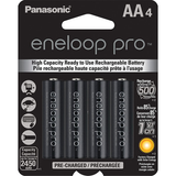 Panasonic Eneloop Pro AA Batteries (4 Pack) by Promaster at B&C Camera