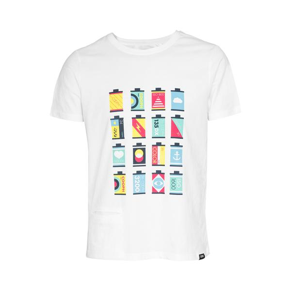 Cooph T-Shirt CANISTERS (White) - Small by Cooph at bandccamera
