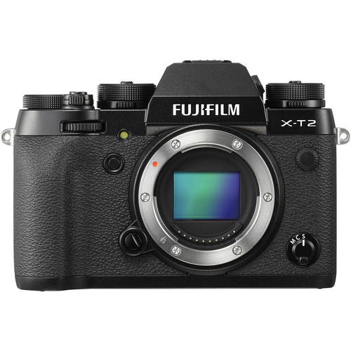 Fujifilm X-T2 Mirrorless Digital Camera (Body Only) by Fujifilm at B&C Camera