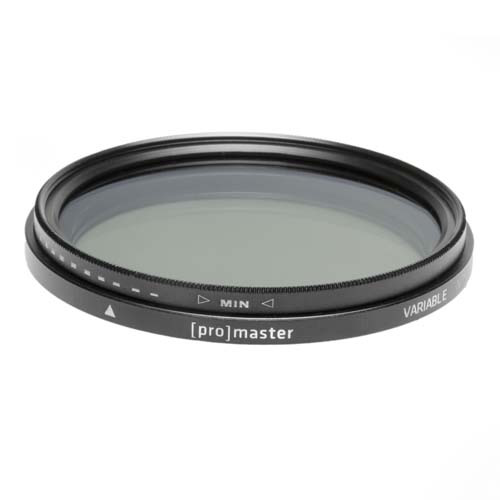 Promaster 55mm VARIABLE ND - 55mm by Promaster at B&C Camera