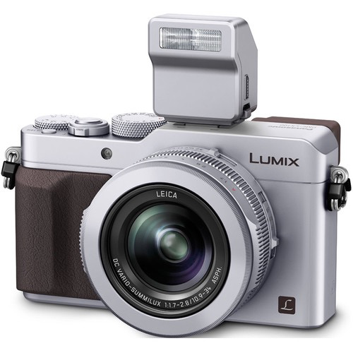 Panasonic Lumix DMC-LX100 Digital Camera (Silver) at B&C Camera