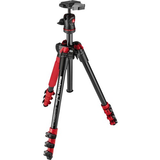 Manfrotto BeFree Compact Travel Aluminum Alloy Tripod (Red) - B&C Camera - 1