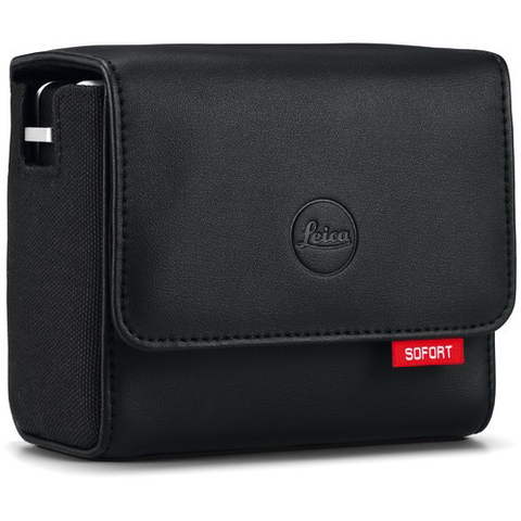 Leica Case for Sofort Instant Film Camera (Black) by Leica at B&C Camera