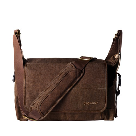 ProMaster Cityscape 130 Courier Bag - Hazelnut Brown