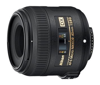 Nikon AF-S DX Micro-NIKKOR 40mm f/2.8G Lens by Nikon at B&C Camera