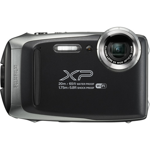 Fujifilm FinePix XP130 Digital Camera (Silver) by Fujifilm at bandccamera