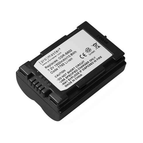 Promaster CGR-S602 Lithium Ion Battery for Panasonic - B&C Camera
