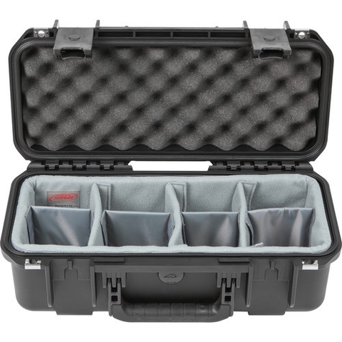SKB iSeries 1706-6 Waterproof Utility Case with Think Tank Design Photo Dividers (Black) by SKB at B&C Camera