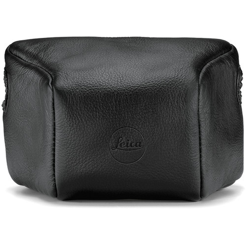 Leica Leather Pouch for Leica M Rangefinder Cameras (Short, Black) by Leica at B&C Camera