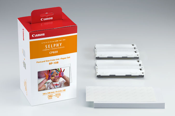 Canon SELPHY RP-108 High-Capacity Color Ink/Paper Set - B&C Camera