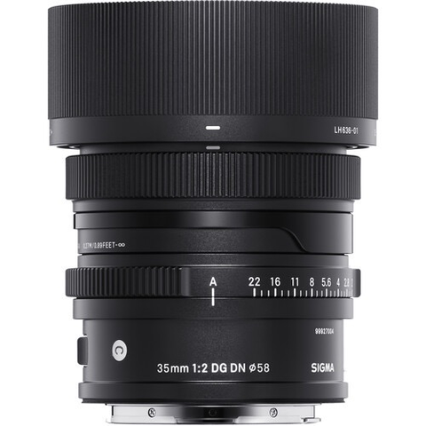 35mm F2.0 Contemporary DG DN for Sony E