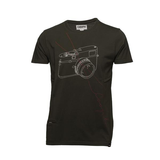 COOPH T-Shirt STITCHCAM (Dark Military)-Small - B&C Camera