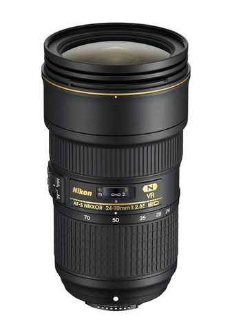 Nikon AF-S NIKKOR 24-70mm f/2.8E ED VR Lens by Nikon at B&C Camera