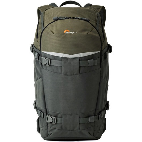 Lowepro Flipside Trek BP 350 AW Backpack (Gray/Dark Green) by Lowepro at B&C Camera