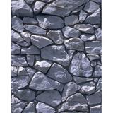 Promaster Scenic Backdrop 8' x 10' - Grey Stone by Promaster at B&C Camera