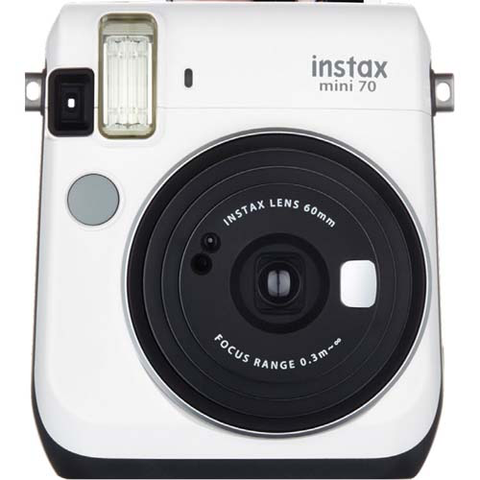 Fujifilm Instax Mini 70 Instant Camera - White by Fujifilm at bandccamera