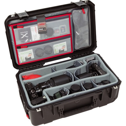 SKB iSeries 2011-7 Case with Think Tank-Designed Photo Dividers & Lid Organizer (Black) by SKB at B&C Camera