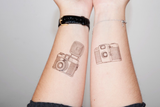 Lomography Temporary Tattoos (5 Pack, Various Designs) - B&C Camera - 3