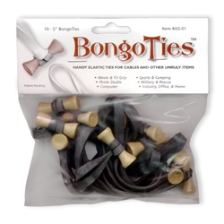 Bongo Ties (10 Pack) by Promaster at B&C Camera