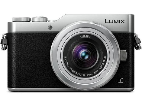 Panasonic Lumix DC-GX850 Micro Four Thirds Mirrorless Camera with 12-32mm Lens (Silver) by Panasonic at B&C Camera