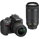 Nikon D3400 W 18-55mm VR & 70-300mm F/4.5-6.3G ED Double Zoom Lens Kit