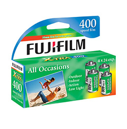 Fujifilm Fujicolor Superia X-TRA 400 Color Negative Film (4 Pack) - B&C Camera