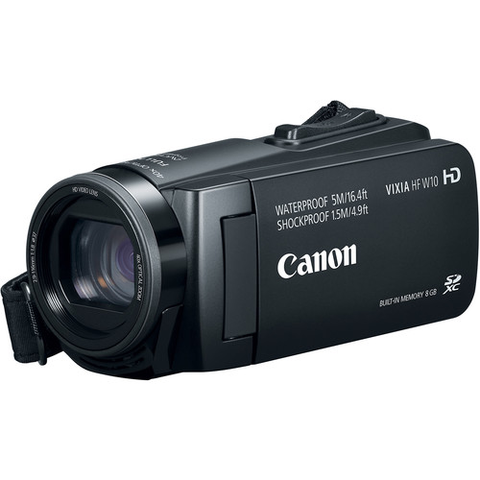 Canon Vixia HF W10 Waterproof Camcorder by Canon at bandccamera