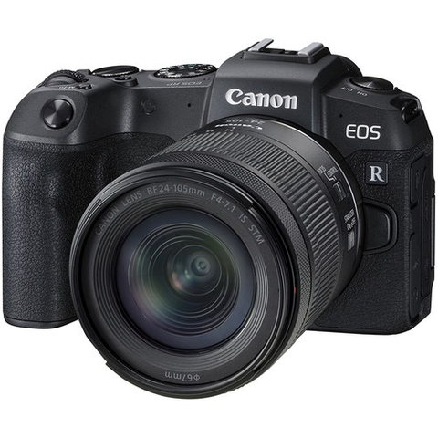 Canon EOS RP Mirrorless Digital Camera with 24-105 IS STM Lens Kit