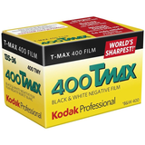 Kodak Professional T-Max 400 Black & White Negative Film (35mm Roll, 36 Exp)