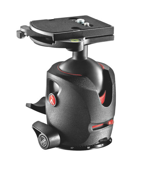 Manfrotto 057 Magnesium Ball Head with RC4 Quick Release by Manfrotto at B&C Camera
