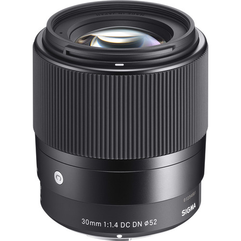 Sigma 30mm f/1.4 DC DN Contemporary Lens for Sony