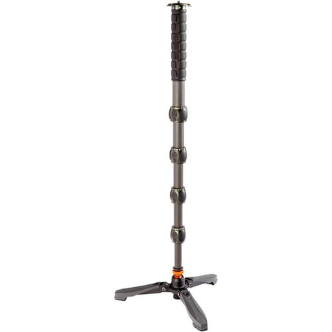 3 Legged Thing Alan Carbon Fiber Monopod with DOCZ Foot Stabilizer