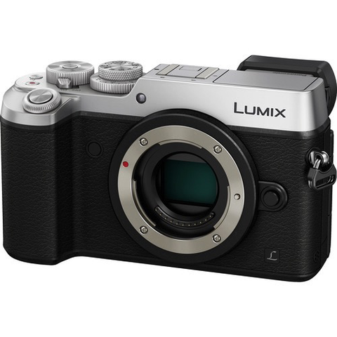 Panasonic Lumix DMC-GX8 Mirrorless Micro Four Thirds Digital Camera Body (Silver) by Panasonic at bandccamera