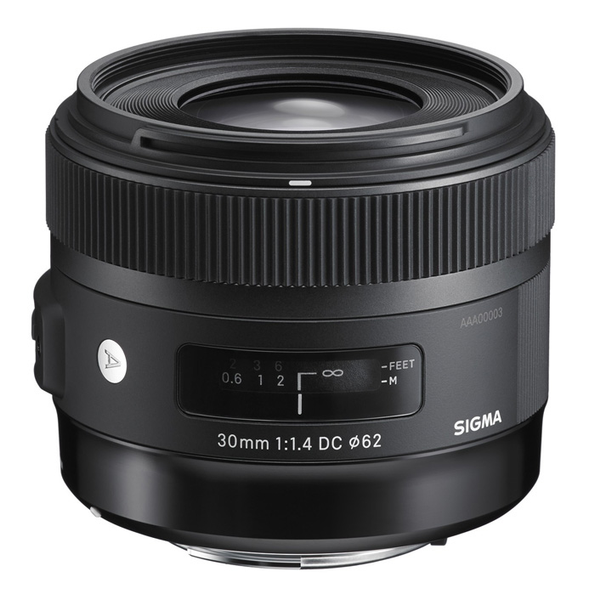 Sigma 30mm F1.4 DC HSM Art Lens for Canon by Sigma at B&C Camera
