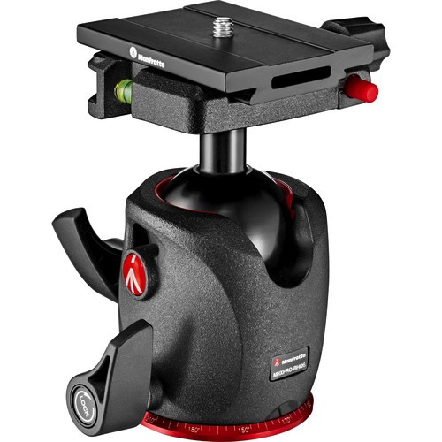 Manfrotto MHXPRO-BHQ6 Ball Head with Top Lock Quick Release Plate by Manfrotto at B&C Camera