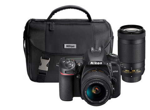 D7500 Dual Zoom Lens Kit by Nikon at bandccamera