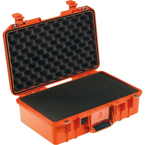 Pelican 1485Air Compact Hand-Carry Case (Orange, Pick-N-Pluck Foam)