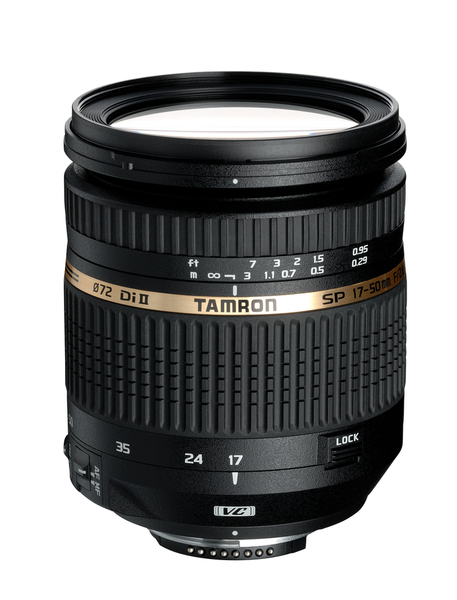 Tamron SP 17-50mm F/2.8 Di II XR VC LD Aspherical (IF) Lens for Canon by Tamron at B&C Camera