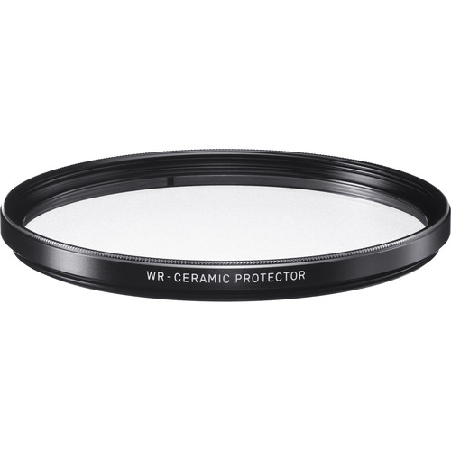 Sigma 77mm WR Ceramic Protector Filter by Sigma at bandccamera