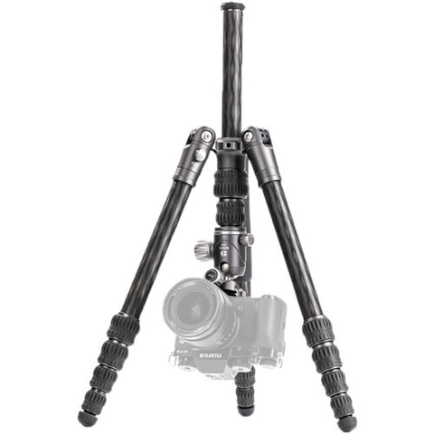 Benro Bat Carbon Fiber One Series Travel Tripod/Monopod With VX20 Ballhead, 5-Leg Sections