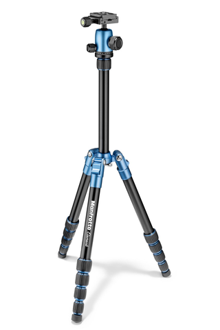 Manfrotto Element Traveller Tripod Small with Ball Head - Blue