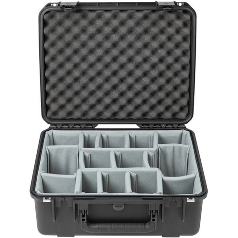 SKB iSeries 1914N-8 Case with Think Tank Photo Dividers & Lid Foam (Black)