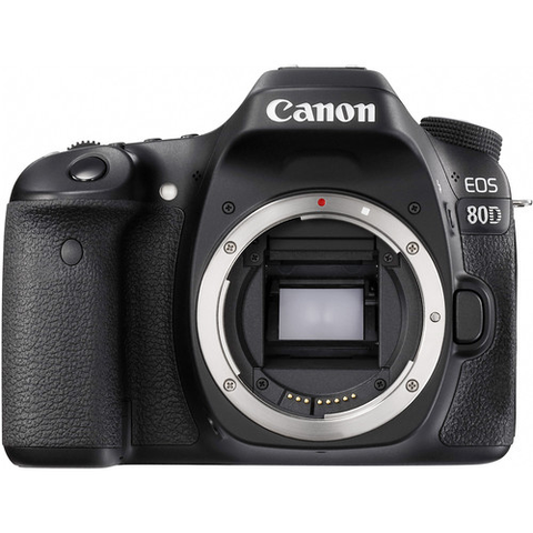 Canon EOS 80D DSLR Camera (Body Only) by Canon at B&C Camera