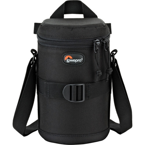 Lowepro Medium Zoom Lens Case 9x16cm (Black) by Lowepro at B&C Camera