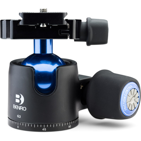Benro G2 Low-Profile Triple Action Ball Head by Benro at B&C Camera