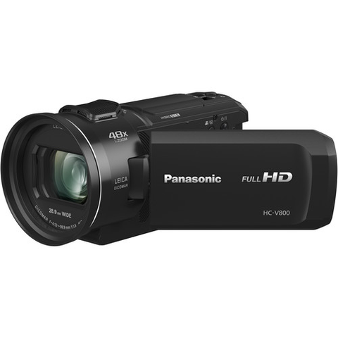 Panasonic HC-V800 Full HD Camcorder by Panasonic at B&C Camera